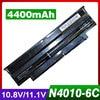 4400mAh laptop battery for Dell Inspiron N5110 13R 14R 15R M501 M5010 N3010 N4010 N5010 N5030 N7010 Series 04YRJH 06P6PN 07XFJJ