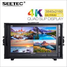4K238-9HSD-CO 23.8″ 4K 3840×2160 Ultra HD Broadcast Monitor for CCTV Monitoring Making Movies Carry-on LCD Director Monitor