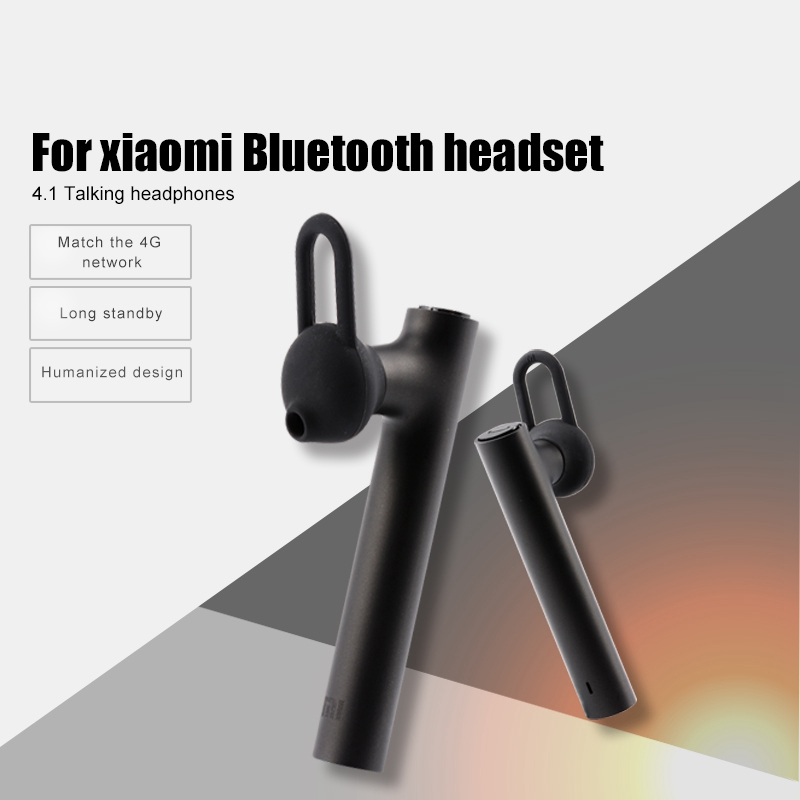 Original Xiaomi Bluetooth Headset Mi Wireless Headset With Microphone Handsfree Portable Ear Hook Earphone Mini Earbud For Phone