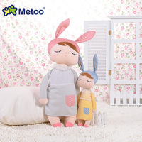 Metoo schattige bunny baby kleine konijn Angela pop knuffels creative fantasy doll voor baby speelgoed