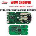 WoW Snooper CDP V5.008 R2 With Keygen with/without Bluetooth Single Green Board NEC Relays OBD2 Scanner Better Than TCS CDP Pro