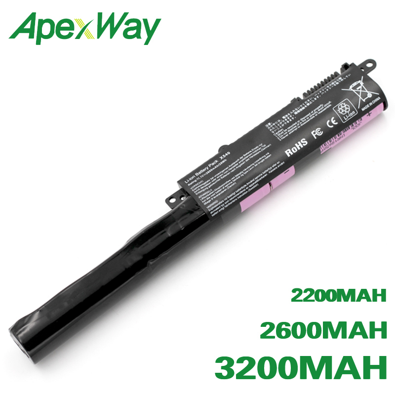 ApexWay A31N1519 Battery For Asus A540L R540SA A540LA R540UP F540LA X540L F540SA X540LA F540SC X540LJ F540UP7200 X540S R540L