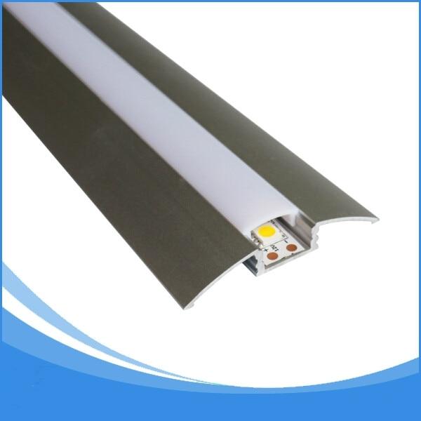 20PCS 2 m hosszú LED-es profil LED-es fénymentes, ingyenes - LED Világítás