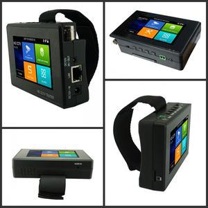 Image 4 - Wanglu Newest 4 inch Wrist CCTV IP Camera Tester H.265 4K IP 8MP TVI 8MP CVI 8MP AHD Analog 5 in 1 CCTV Tester Monitor with WIFI