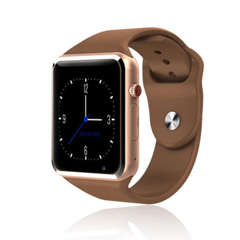 A1 reloj teléfono con tarjeta SIM Bluetooth Cámara 1,54 pulgadas pantalla táctil niños dibujos animados moda Sport teléfono móvil barato