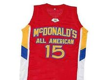 02979a976892  15 KEMBA WALKER McDOLNALD ALL AMERICAN Basketball Jersey All Size  Embroidery Stitched Customize any name