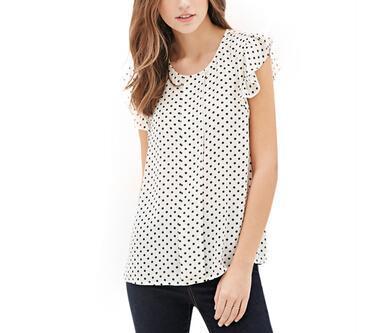 Online Get Cheap Blue Polka Dot Shirt Women -Aliexpress.com ...