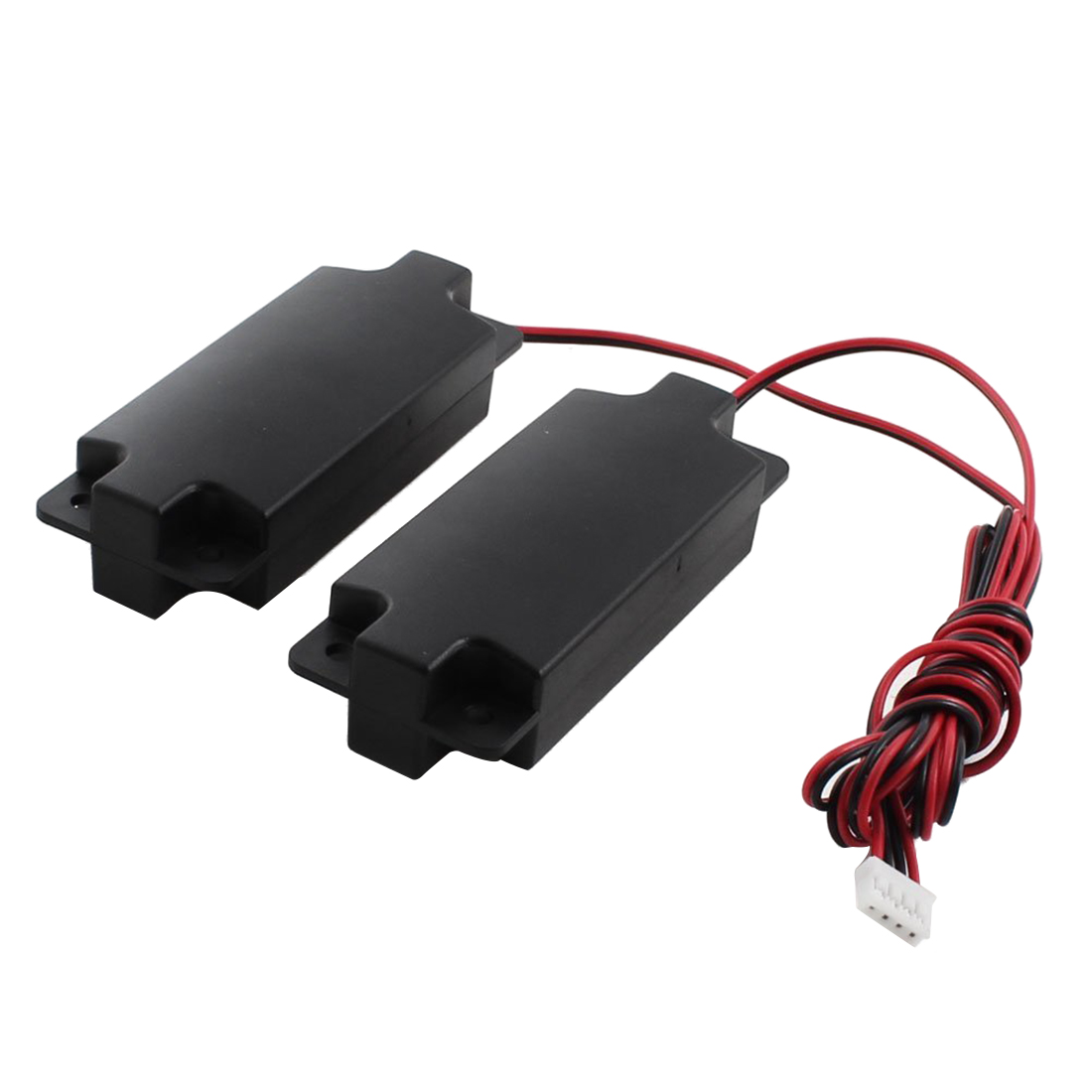 1 Paar 4-pin Balance Plug Rechthoek Magneet Speaker Versterker 3 W 8 Ohm Duidelijke Textuur