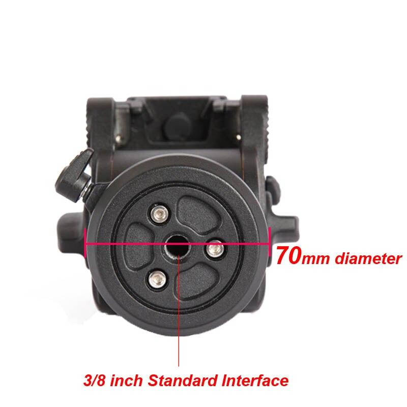 JY0506H Video Kamera Sönümleme Sıvı Tripod Başkanı Slider - Kamera ve Fotoğraf - Fotoğraf 3