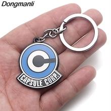 P3792 Dongmanli Anime Dragon Ball Key Holder Cute Enamel Metal Pendant Car Keychain For Rings Gifts