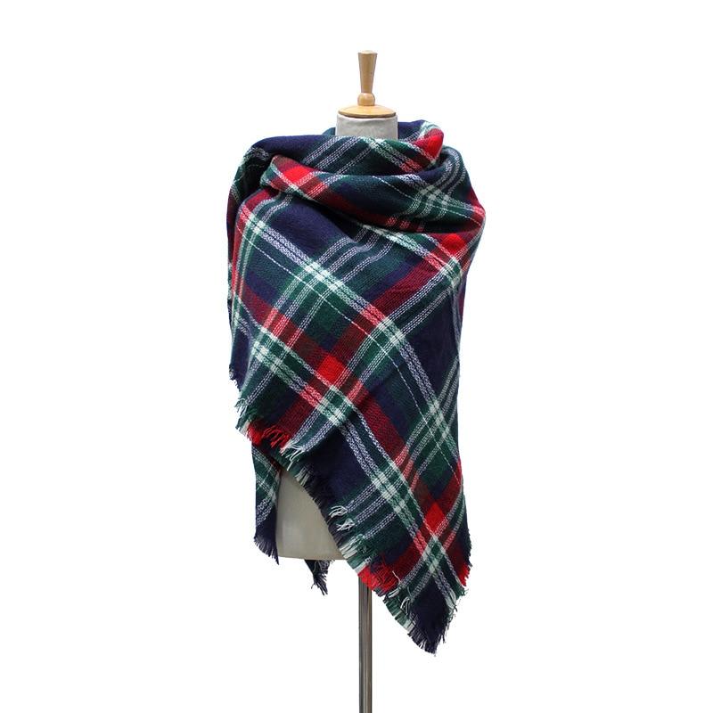 Winter Scarf 2016 font b Tartan b font Scarf Women Plaid Scarf Cuadros New Design Unisex