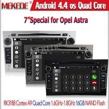 Free shipping 7″ Pure Android 4.4 Car DVD Opel Antara Vectra B C Capacitive Screen Quad-core 1.6GHZ CPU 1GB RAM+1GB Rom