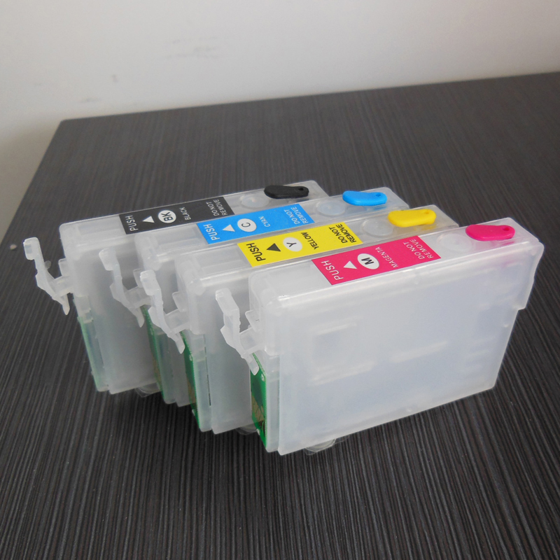 T0611 Empty Refillable Ink Cartridge For Epson - T0614 Stylus D68 D88 DX3800 DX3850 DX4800 DX4850 Printer