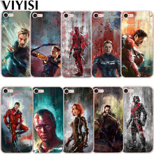 VIYISI For Meizu U20 U10 M6 5 Note M5S 5C M3s 3Note Pro6 Phone Case Marvel Ant man Deadpool Shell Coque Back Bags Etui