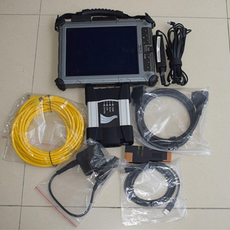 ICOM NEXT A+B+C For BMW With Laptop + V2017.09 ICOM A2 Software Expert Mode + xplore IX104 i7 Tablet Full set ready to use