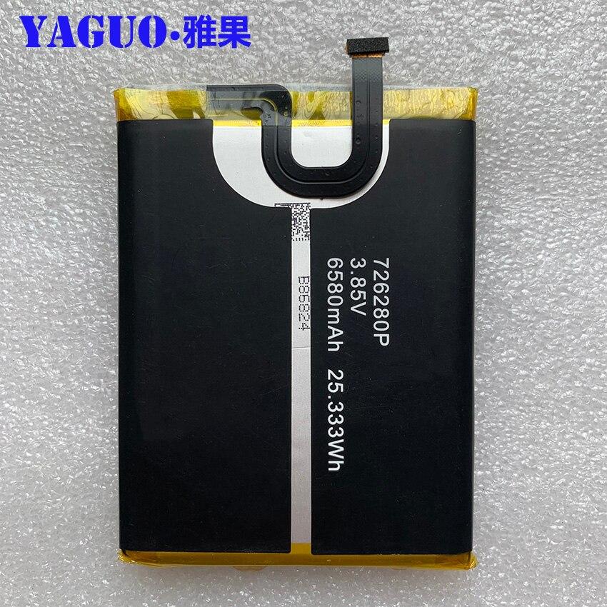 100% New Original Blackview Bv6800 Battery 6580mah Replacement For Blackview Bv6800 Pro Ip68 Waterproof Mt6750t Smart Phone