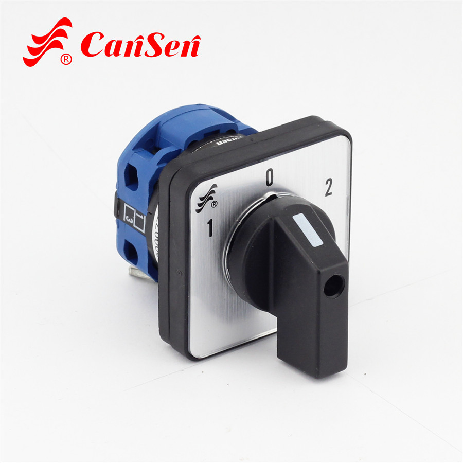 CA10 replacer LW26 20 440V Ui 690V Cam Switch 3 position 1 Pole 4 ...
