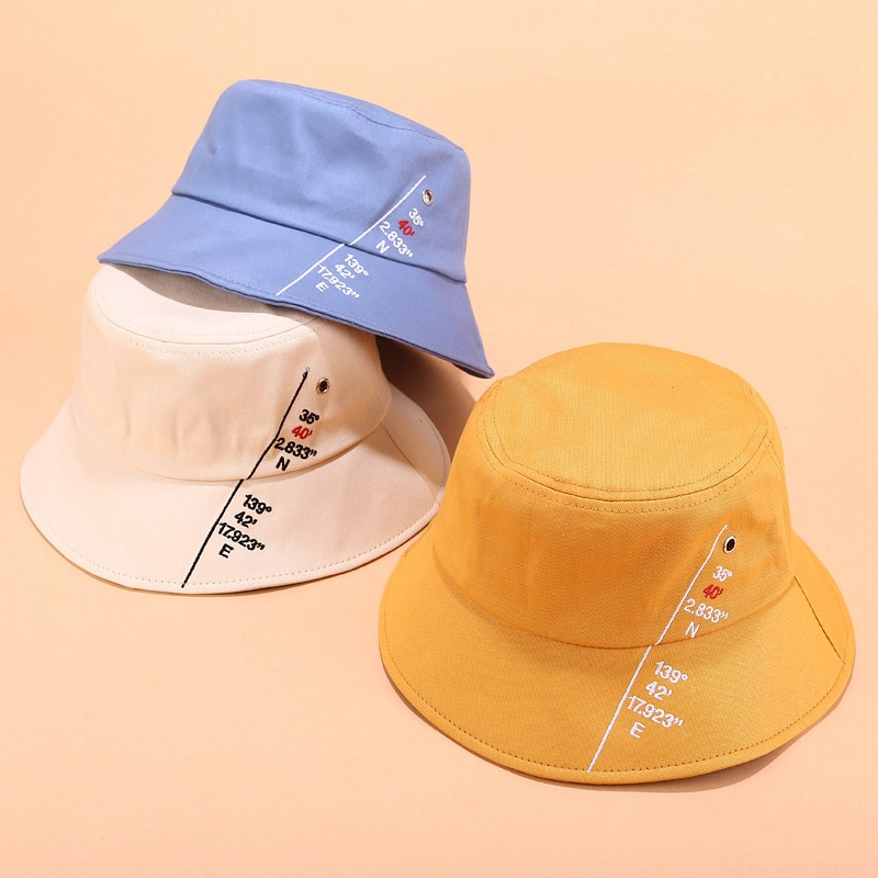 Geometric Bucket Hat Women Hip Hop Cap Panama Outdoor Casual Sports Hat Cotton Fishing Sun Hat For Man Women Caps Panama Hats in Men 39 s Bucket Hats from Apparel Accessories
