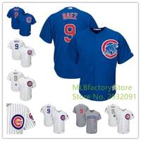 Men S Chicago Cubs Javier Baez Jersey Home White Gray Alternate Royal Gold Program Player Jersey