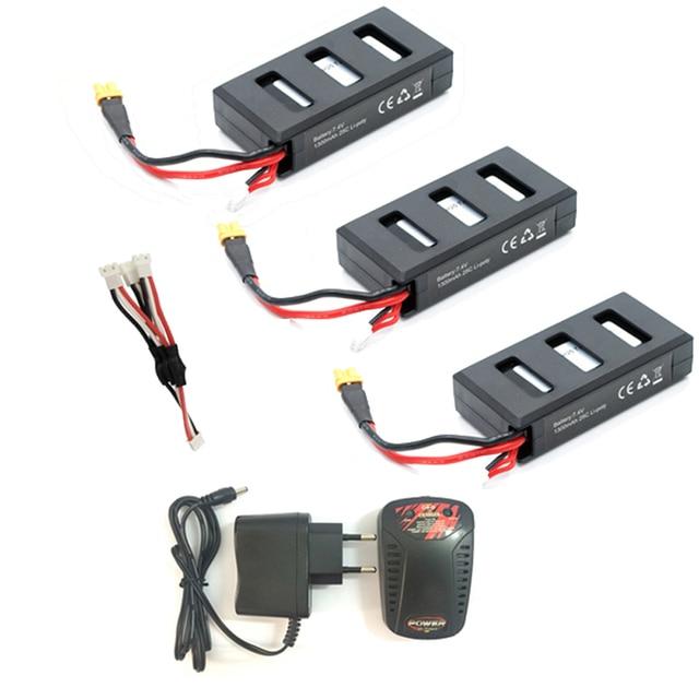 MJX Bugs 6 batterie 7.4V 1300mAh 25C batterie au Lithium pour MJX B6 sans brosse RC quadrirotor pièces de rechange RC Drone Li batterie
