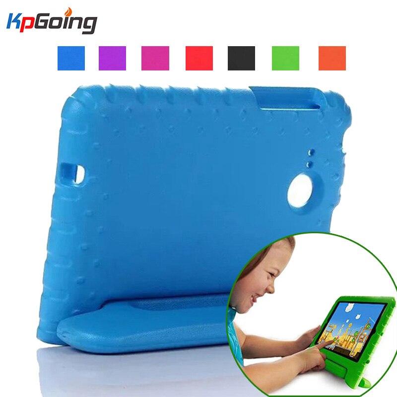 Pour Samsung Galaxy Tab Un 7.0 Cas T280 T285 Antichoc EVA Mousse Housse De Protection Pour Samsung Tab Un 7.0 T285 mignon Enfants T230 Stand