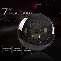 7 inch Daymaker Projector LED Headlamp Headlight Fits Harley 91 later FLS, FLSS, FLSTC, FLSTF, FLSTFB, FLSTFBS and FLSTN