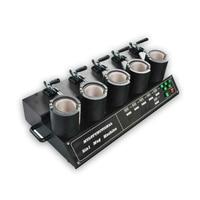2017 New 5 in 1 Mug Heat Press Printer Automatic digital Thermal Mug Transfer Printer on high quality 110V/220V