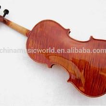 Полноценно Клен назад материал Tailpiece черного дерева Скрипка(Afanti AVL-031
