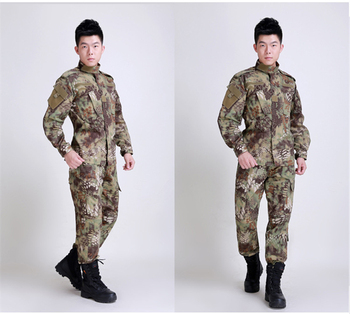 Camouflage Military equipment hunting clothes airsoft paintball war game tactical gear army Python pattern camouflage hunting