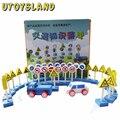 UTOYSLAND Детские игрушки Учебные Пособия Деревянные Развивающие Игрушки Идея Знания Игры Блоки Дорожные Знаки Знак