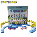 UTOYSLAND Baby toys Teaching Aids Wooden Educational Toys Idea Knowledge Game Blocks Traffic Signs Mark