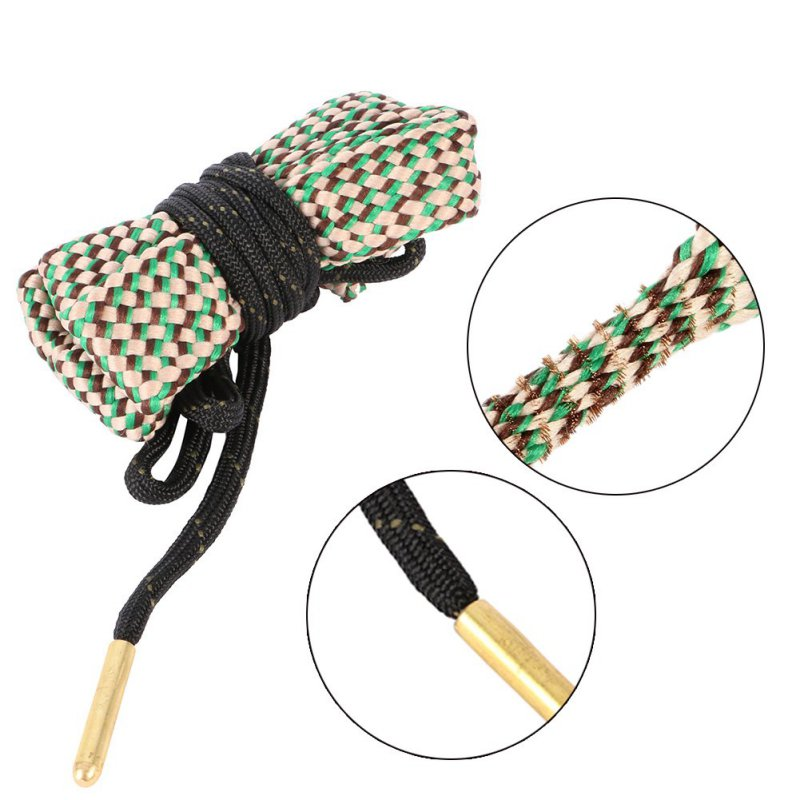 Tactical Bore Snake Cleaner 30 Cal. 308Cal 30 - 06. 300cal. 303 & 7.62 Mm Hunting Gun Accessories Cleaning Rope Drop Shipping