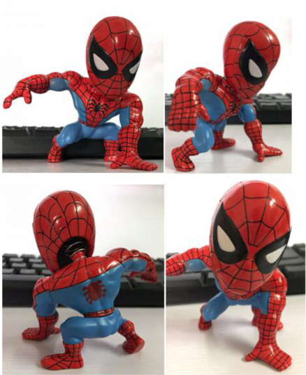 SAINTGI Spider-Man Purple Venom First Generation Harmonia Edition Rare Amazing Marvel PVC Collectible Avengers Movable Body 10cm