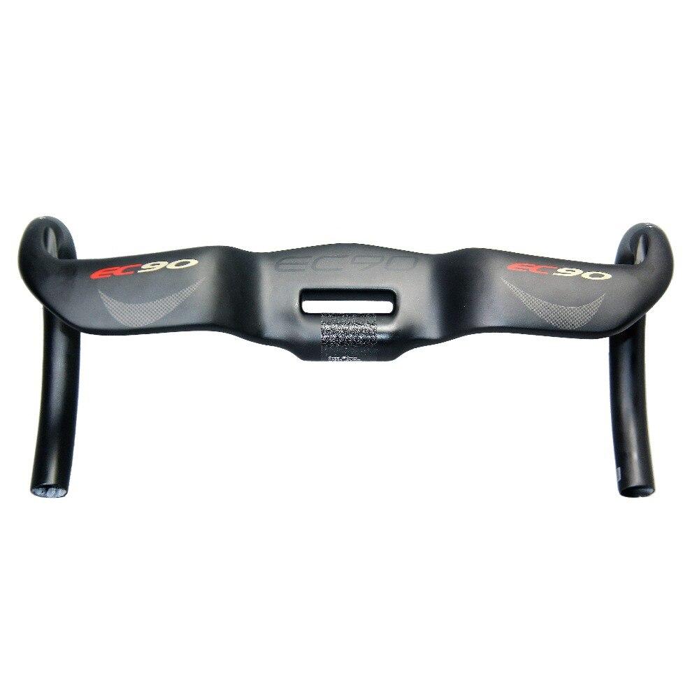 EC90 carbon fiber carbon fiber highway bicycle thighed handle carbon handlebar road bike handlebar 31.8 400 420 440MM Matt цена