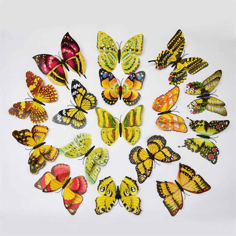 Fine Butterfly 3d Wall Decor Image Collection - Wall Art Collections ...