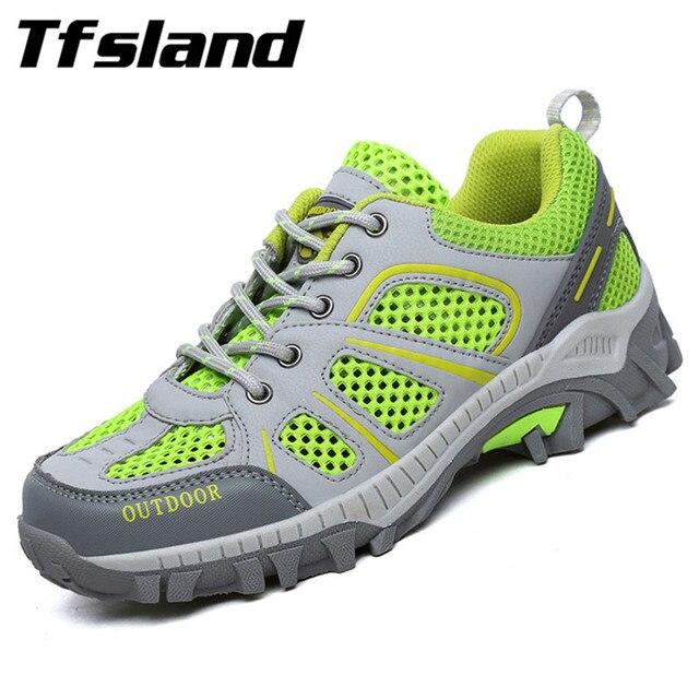 € 20.03 40% de DESCUENTO| : Comprar Nuevas zapatillas de senderismo de montaña de malla resistente al agua Para hombre y mujer de tenis