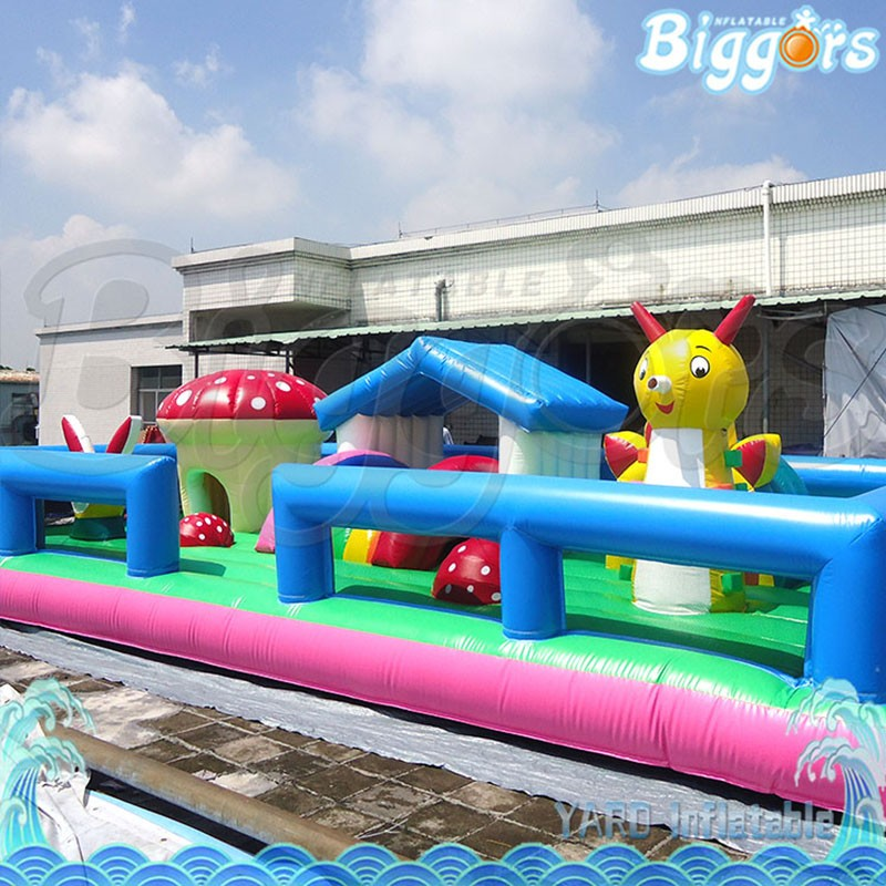 5004 inflatable bouncy house (2)