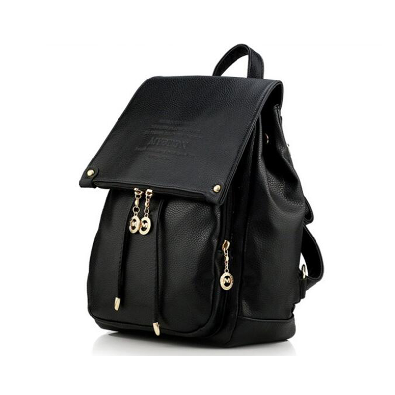 2017 NEW Fashion Backpack Women Backpack Leather School Bag Leather Women Bag Casual Backpack For Teenage Girl 2017 new women fashion backpack casual