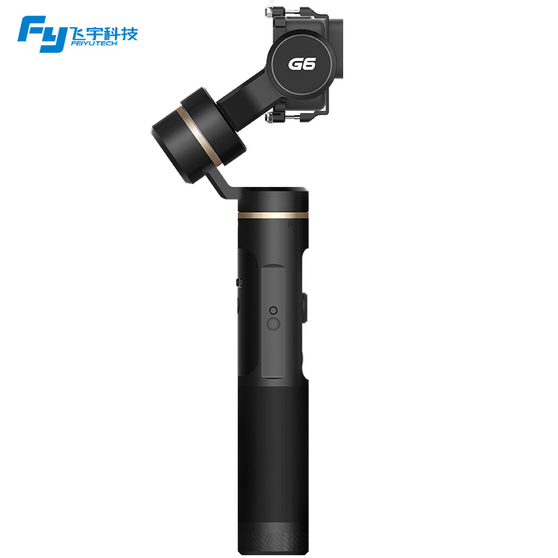 Feiyutech G6 Feiyu Handheld 3-Axis Gimbal for GoPro HERO 6 /5 / 4 / 3+ / 3 Yi cam 4K / AEE with Wifi + Blue Tooth OLED Screen
