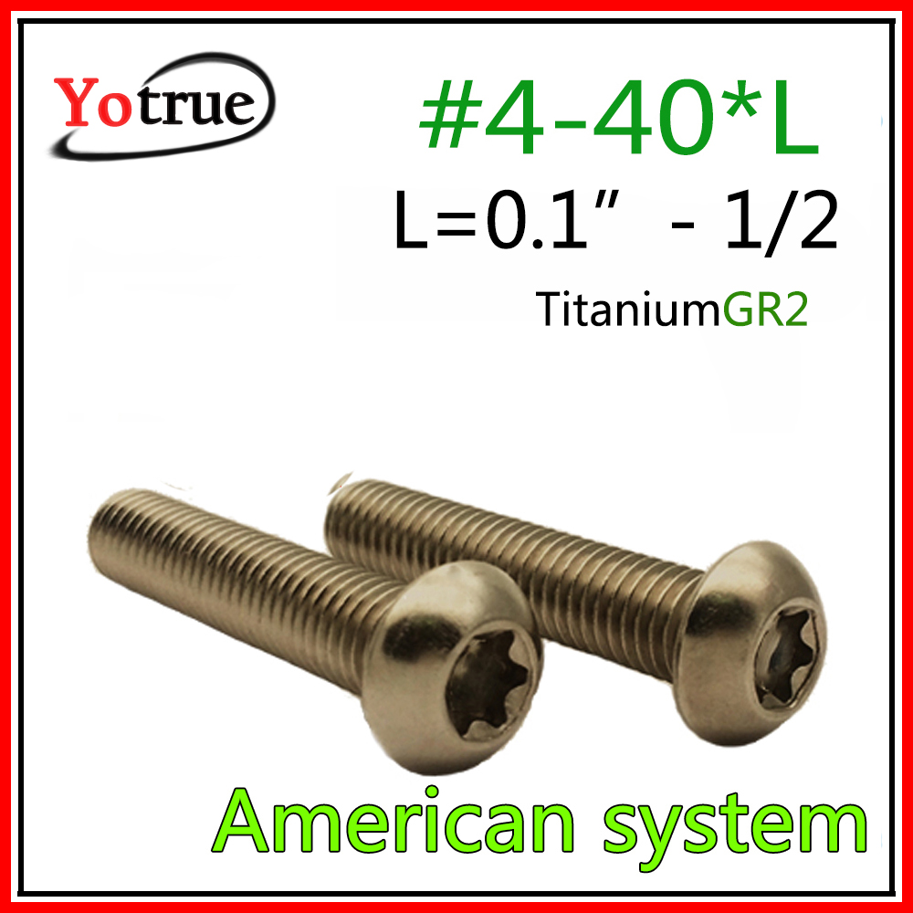 "4-40 X 1//2/"" SCREW PAN HEAD SLOT NYLON PLASTIC 100 pcs"