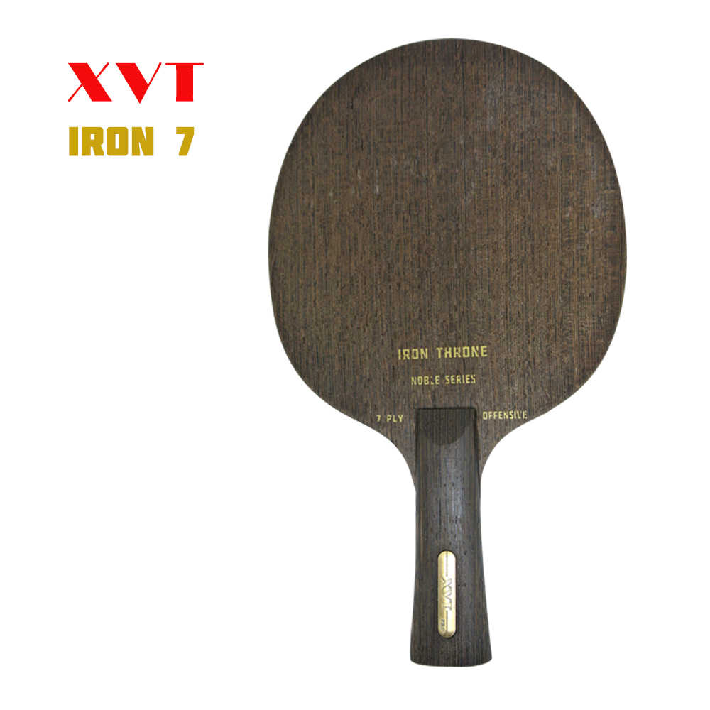 High-END XVT IRON THRONE 7 (nostalgic) Wenge 7 ply Wood Table Tennis paddle/ Table Tennis Blade OFF+