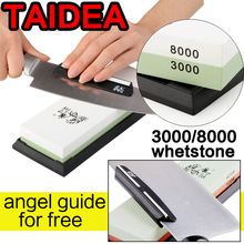 TAIDEA T0914W knife grinder angle double Side 3000/8000 Grit Professional Knife Sharpener Sharpening Grinding Stone Whetstone