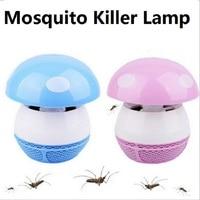 Mini USB Elektronische Moskito-killer Lampe Abweisend LED-Licht 220 v Luftstrom Anti Insekt Photokatalysator Outdoor Fly Schädling Tötung F30
