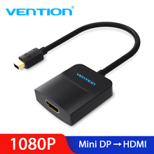 Vention Thunderbolt to HDMI Converter Mini Displayport to HDMI Adapter Cable for Apple MacBook Air Pro iMac Mac Surface Mini DP цена
