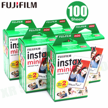 100 Sheets Fujifilm Instax Mini 8 film for Fuji 7s 9 70 25 50s 90 Instant