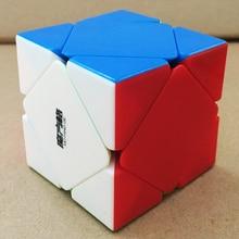 QiYi Mofangge MFG Skewb Black/Stickerless Speed Cube Puzzle Educational Toys For Children Kids