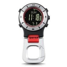 Умные часы альтиметр барометр компас светодио дный светодиодный клип часы спортивные часы Рыбалка пеший Туризм Скалолазание часы многократного использования напоминание