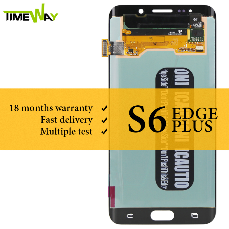 Grade LCD For Samsung S6 Edge Plus LCD Dispaly Super AMOLED With Touch Screen Assembly For Samsung G928F LCD ScreenGrade LCD For Samsung S6 Edge Plus LCD Dispaly Super AMOLED With Touch Screen Assembly For Samsung G928F LCD Screen