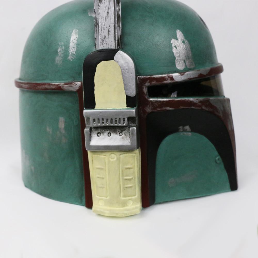 Helmet Star Wars Boba Fett Bounty Hunter Hat Boba Fett Helmet Halloween Helmet Mask (8)