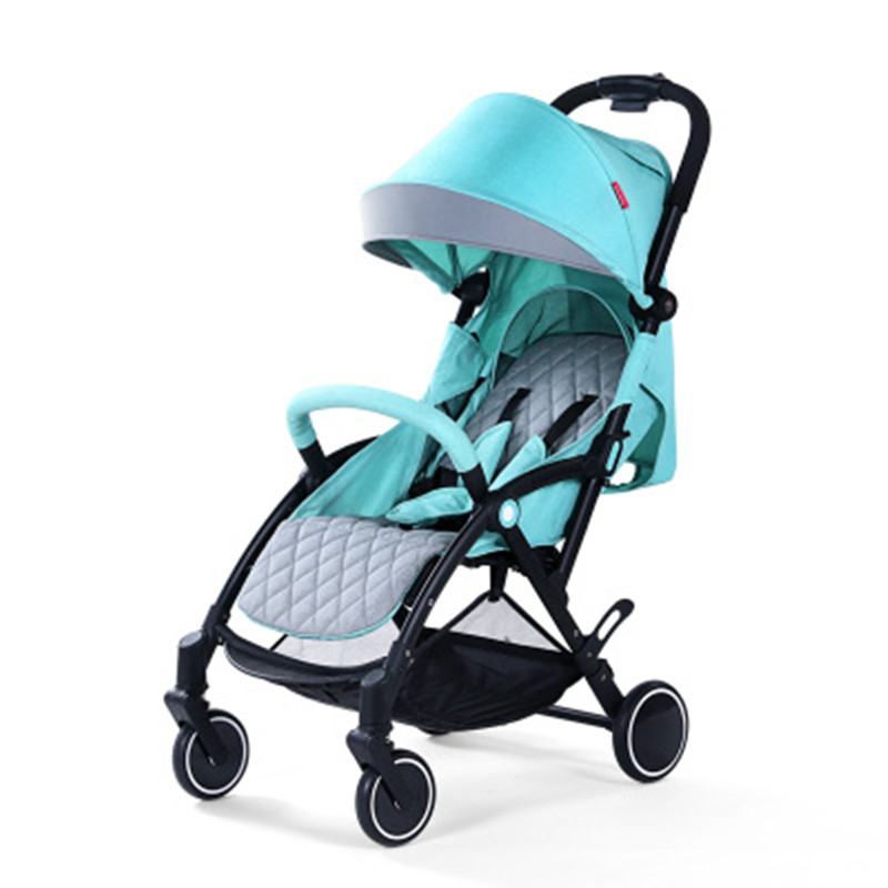 Baby stroller lightweight folding small can sit reclining simple umbrella portable trolley ...